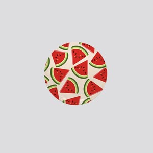 Watermelon Pattern Flip Flops Mini Button